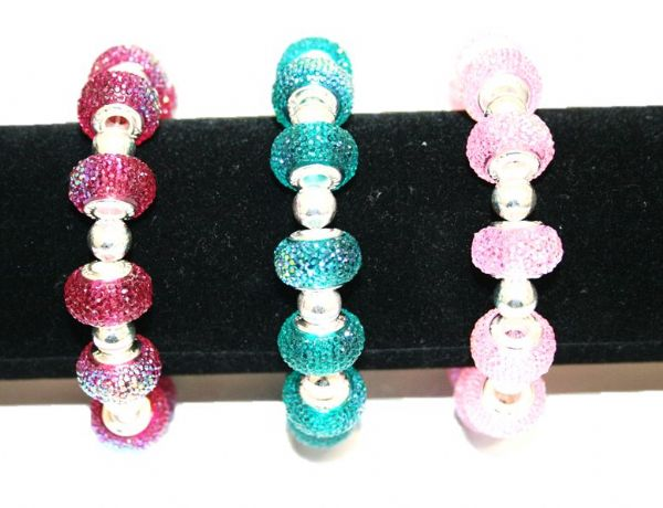 Diamond acrylic bracelet kit 30pcs (£2.50 each)